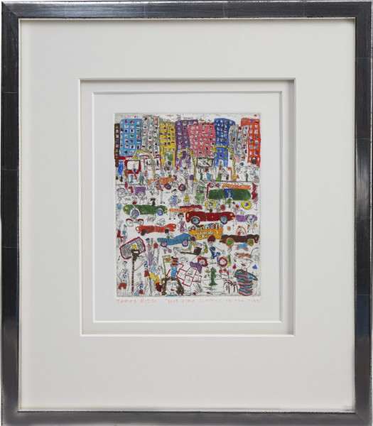 HOT TIME SUMMER IN THE CITY (1977) - JAMES RIZZI