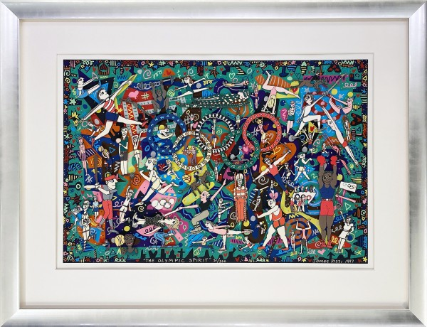 THE OLYMPIC SPIRIT (1997) - JAMES RIZZI