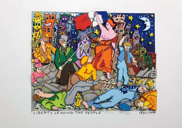 LIBERTY LEADING THE PEOPLE (1998) - JAMES RIZZI