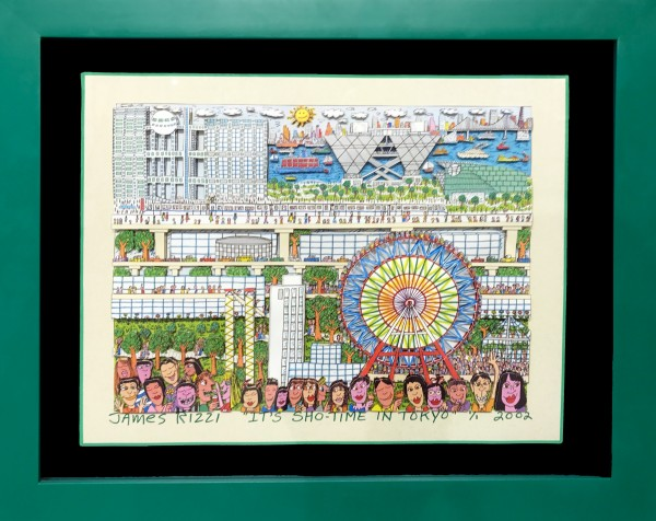 IT'S SHO TIME IN TOKYO (2002) - JAMES RIZZI UNIKAT