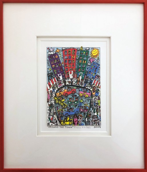 AROUND THE TOWN (2008) - JAMES RIZZI