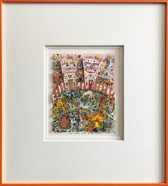 TOO MANY CATS IN THE YARD (1989) - JAMES RIZZI