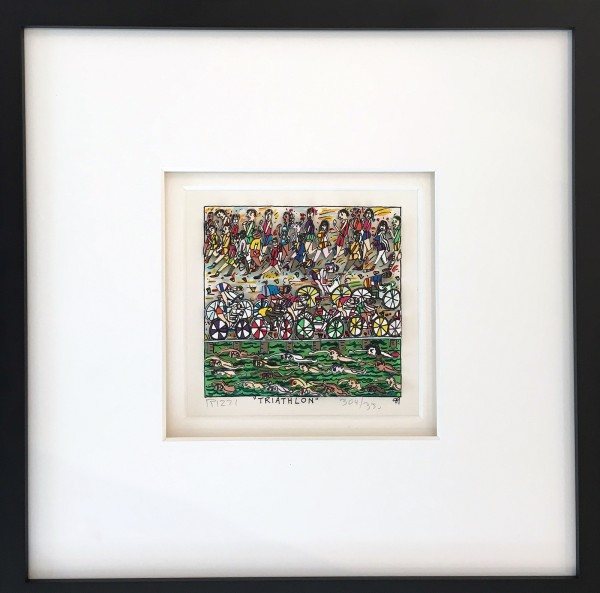 TRIATHLON 304 / 350 (1989) - JAMES RIZZI