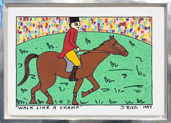 WALK LIKE A CHAMP - UNIKAT (1994) - JAMES RIZZI