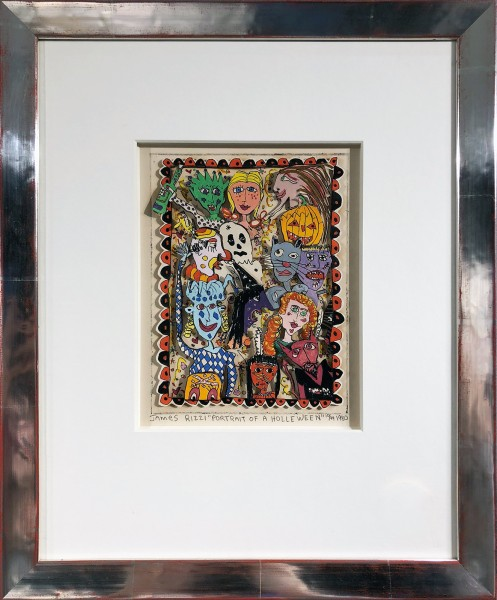 PORTRAIT OF A HOLLEWEEN (1980) - JAMES RIZZI