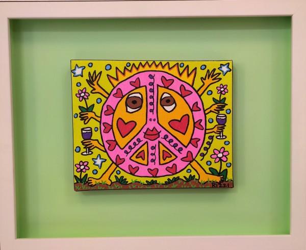 PARTY PEACE GIRL (2009) UNIKAT - JAMES RIZZI