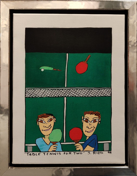 TABLE TENNIS FOR TWO (1994) UNIKAT - JAMES RIZZI
