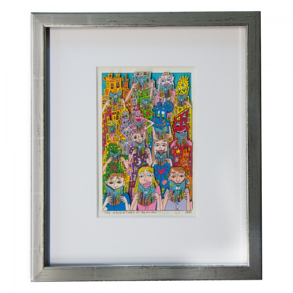 THE ADVENTURE OF READING (1999) - JAMES RIZZI
