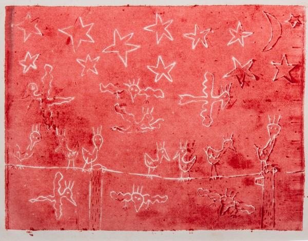NIGHT BIRDS RED (1980) - JAMES RIZZI
