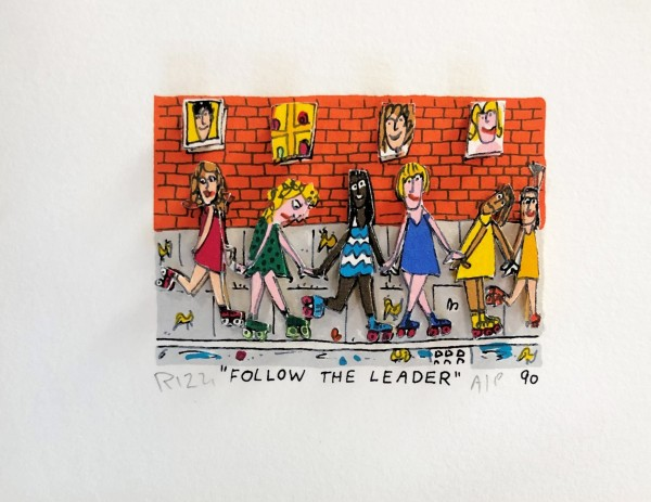 FOLLOW THE LEADER (1990) - JAMES RIZZI