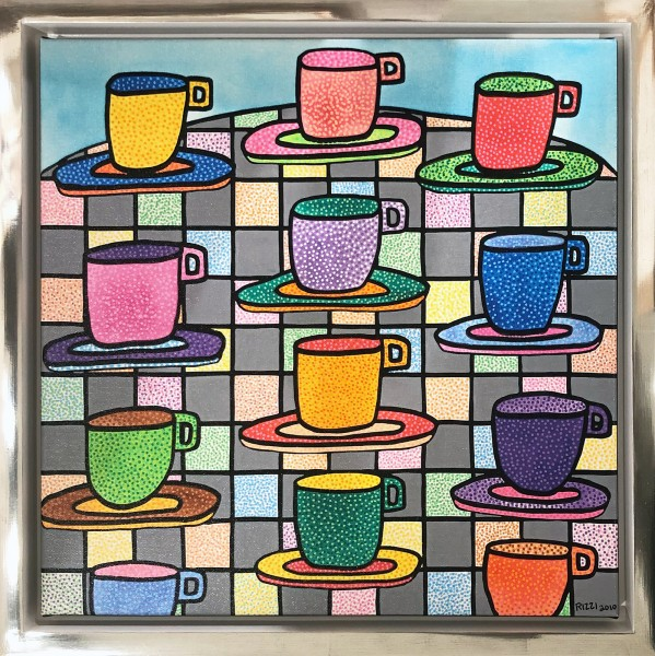 THE MOST COLORFUL CUPS OF COFFEE (2017) - JAMES RIZZI