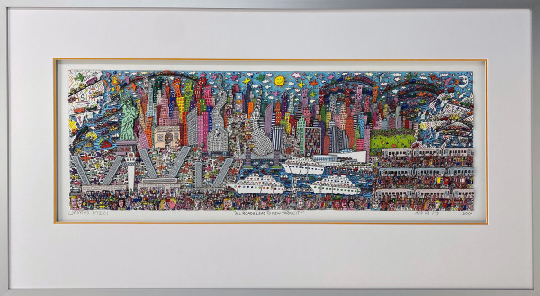 ALL ROADS LEAD TO NEW YORK CITY (2009) - JAMES RIZZI