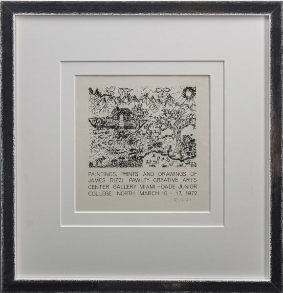 PAWLEY CREATIVE ARTS CENTER (1972) - JAMES RIZZI