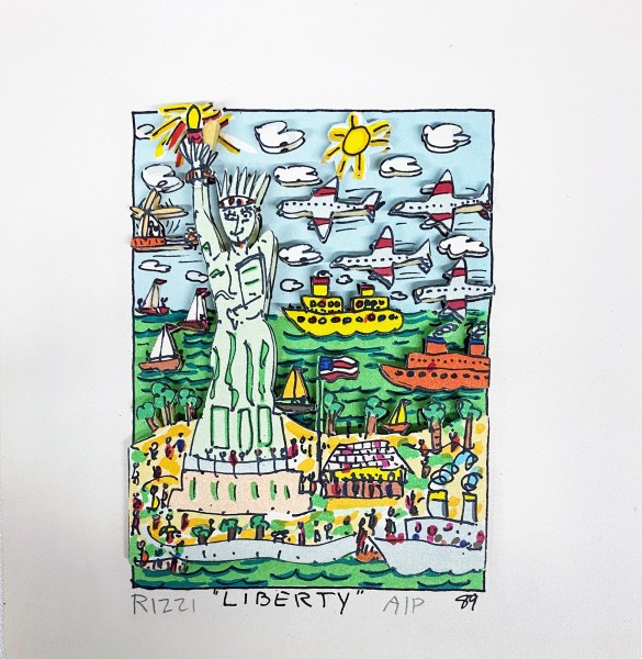 LIBERTY (1989) - JAMES RIZZI