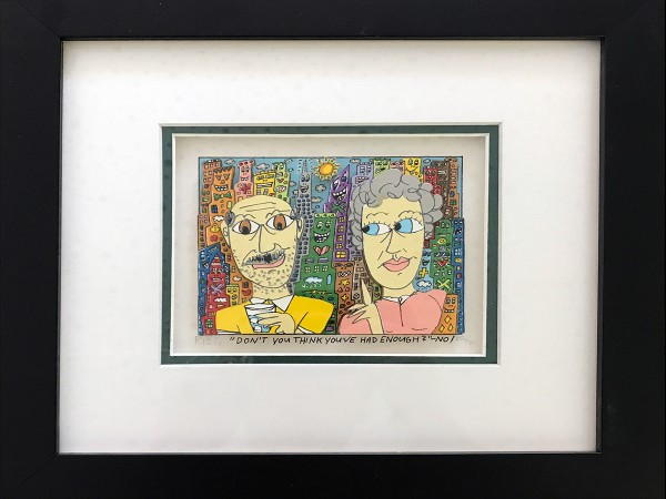 DON'T YOU THINK YOU'VE HAD ENOUGH? - NO! (1997) 256/350 - JAMES RIZZI