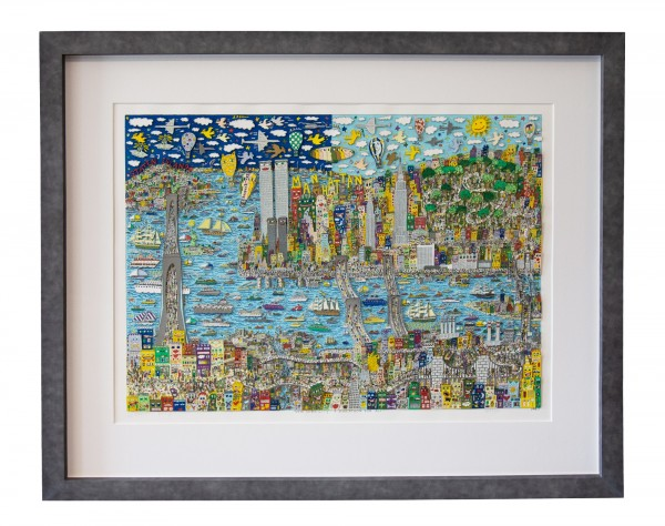 NEW YORK CITY - A MARATHON FOR ALL (1997) - JAMES RIZZI