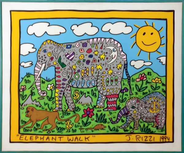 ELEPHANT WALK (1994) - JAMES RIZZI UNIKAT