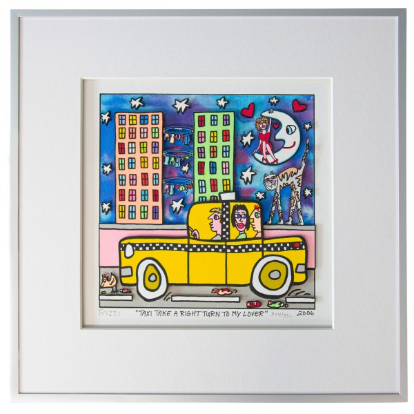 TAXI TAKE A RIGHT TURN TO MY LOVER (2006) - JAMES RIZZI
