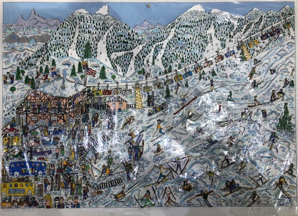 SKI WEEKEND (1986) - JAMES RIZZI