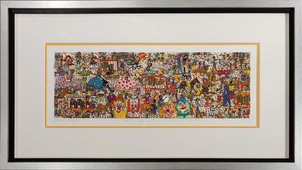 WHEN THE CIRCUS COMES TO TOWN (1988) - JAMES RIZZI