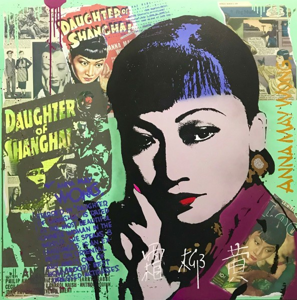 DAUGHTER OF SHANGHAI - MICHEL FRIESS - CANVAS