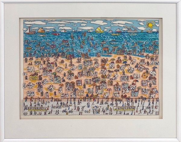 WHEN LIVING IS EASY (1987) - JAMES RIZZI