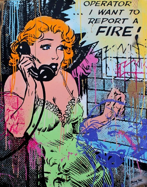 COMIC WOMAN - MICHEL FRIESS