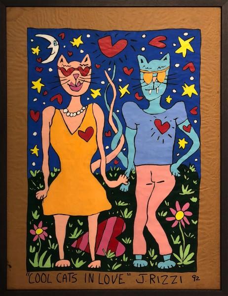 COOL CATS IN LOVE - JAMES RIZZI - UNIKAT (1992)