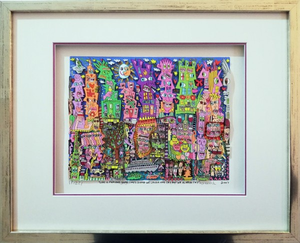 LIFE IS FUN AND SOMETIMES DUMB-WE LAUGH AND CRY BUT WE ALWAYS TRY (2007) - JAMES RIZZI