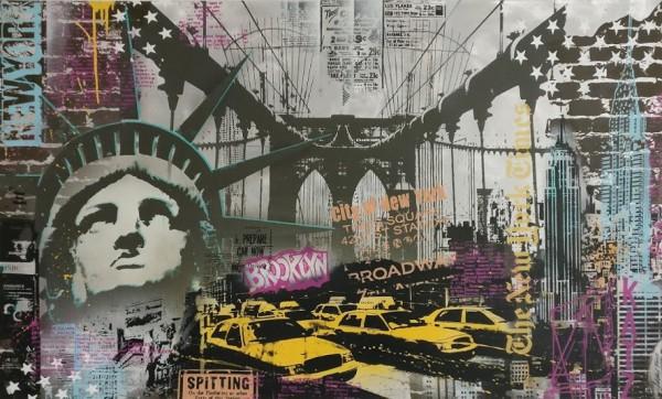NEW YORK (2016) - ALUMINIUM - Michel Friess