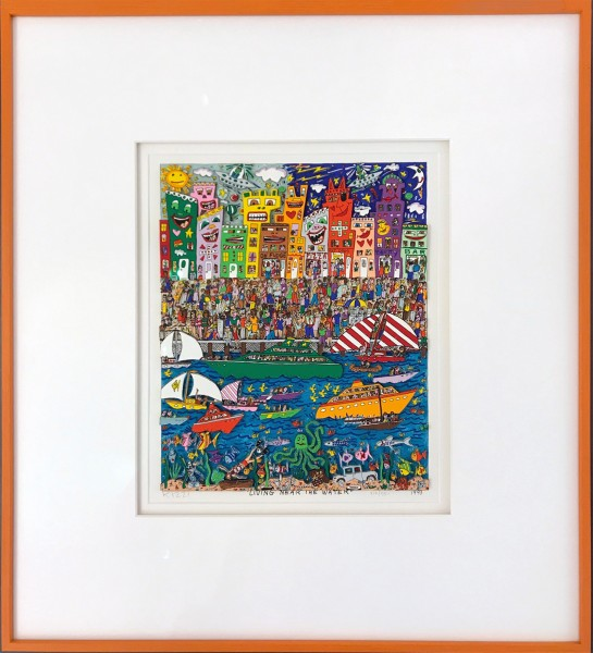 LIVING NEAR THE WATER (1993) - JAMES RIZZI