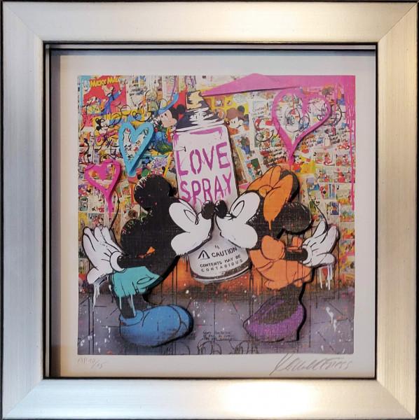 MICKEY LOVE SPRAY MINI - 10/15 AP EDITION - 3D