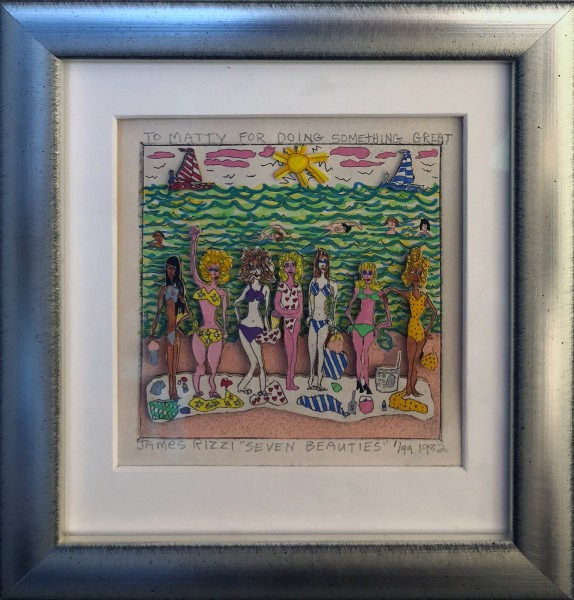 SEVEN BEAUTIES (1982) - JAMES RIZZI - NUMMER 1 / 99 - MIT WIDMUNG