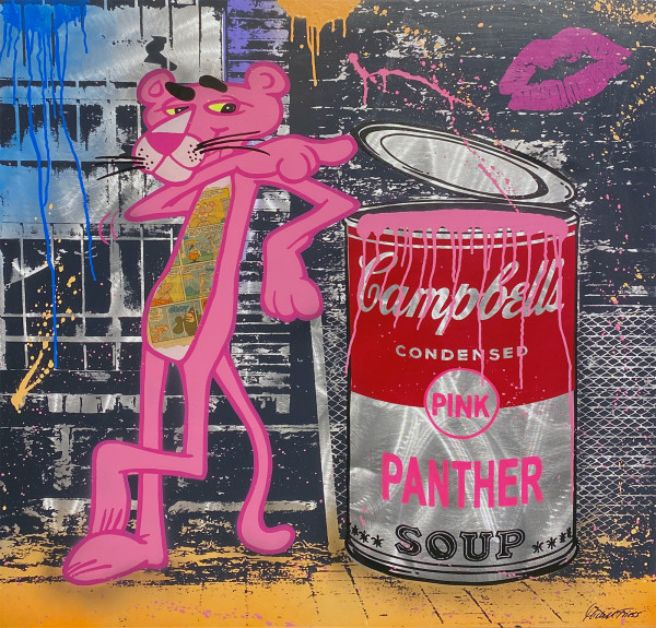 PINK PANTHER - MICHEL FRIESS - ALU
