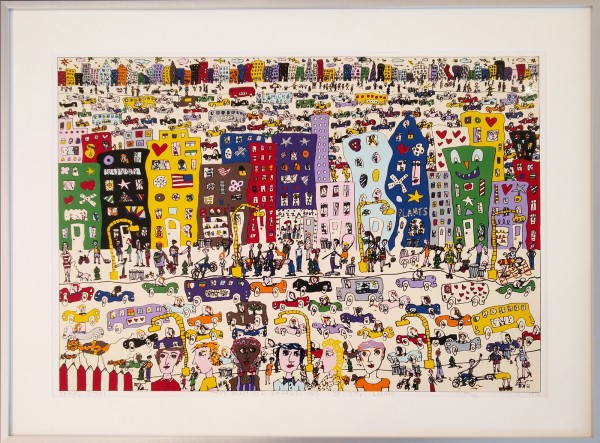 THE MULTIPLE IMPRESSIONS OF CITY LIVING (1978) - JAMES RIZZI