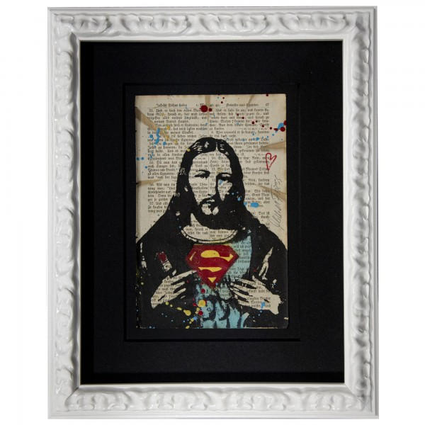 SUPER JESUS BIBELBLATT - MICHEL FRIESS