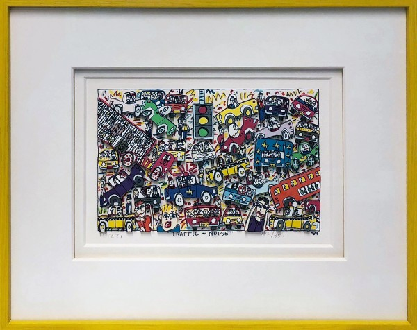 TRAFFIC + NOISE (1989) - JAMES RIZZI