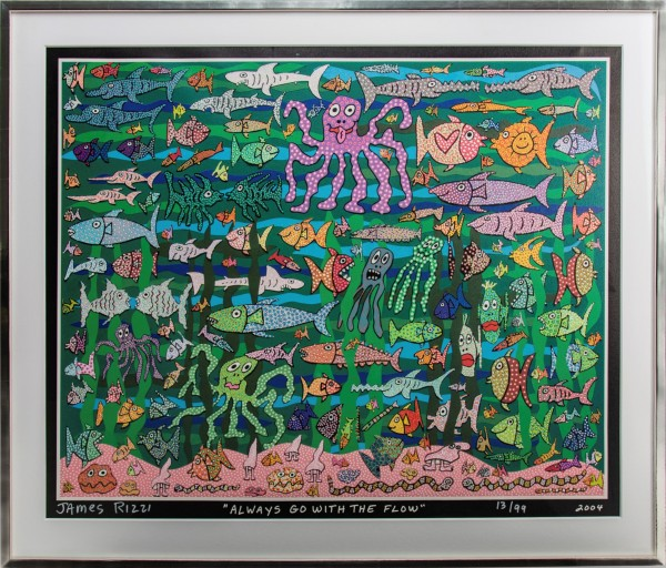 ALWAYS GO WITH THE FLOW (2004) - JAMES RIZZI