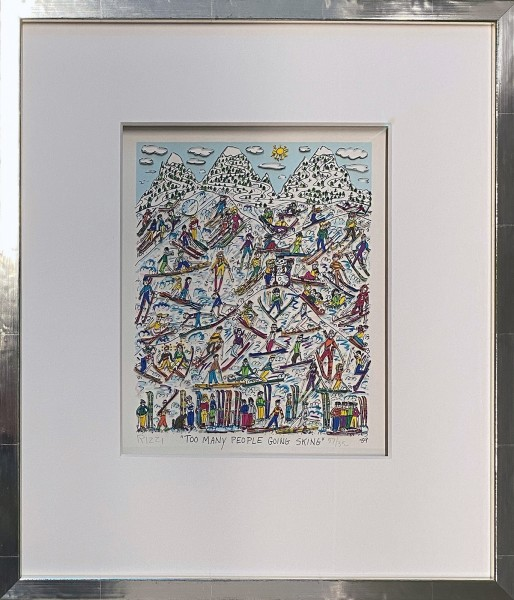 TOO MANY PEOPLE GOING SKING (1989) - JAMES RIZZI