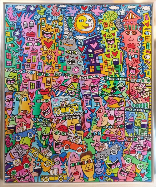 GETTING THE MOST OUT OF LIFE (2016) - James Rizzi