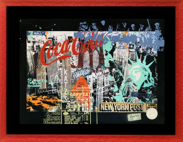 NY COLLAGE - FINE ART PRINT - MICHEL FRIESS