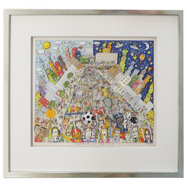 SUMMER IN THE CITY (1996) - JAMES RIZZI