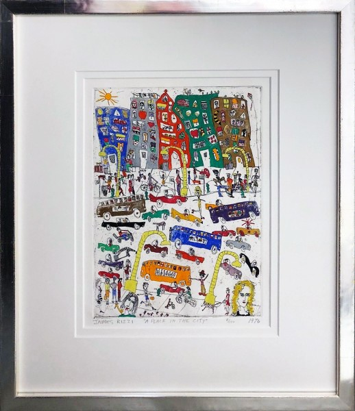 A PLACE IN THE CITY (1976) - JAMES RIZZI