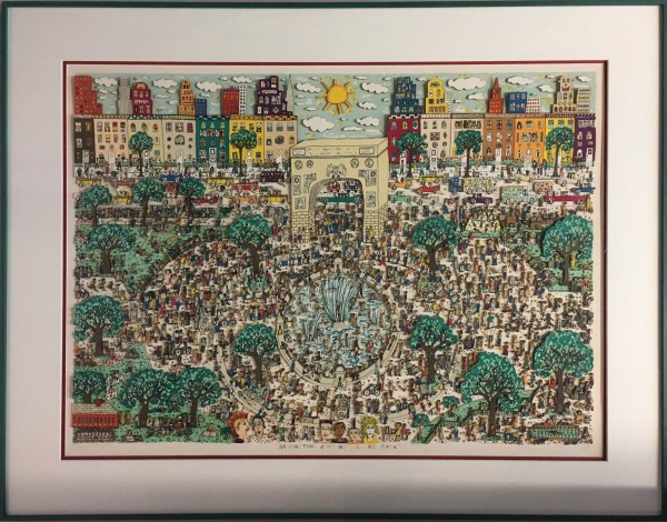 WASHINGTON AIN'T NO SQUARE PARK (1989) - JAMES RIZZI