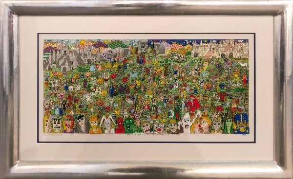 WE ALL HAVE SOMETHING TO OFFER (1998) 3D - JAMES RIZZI inkl. Rahmen