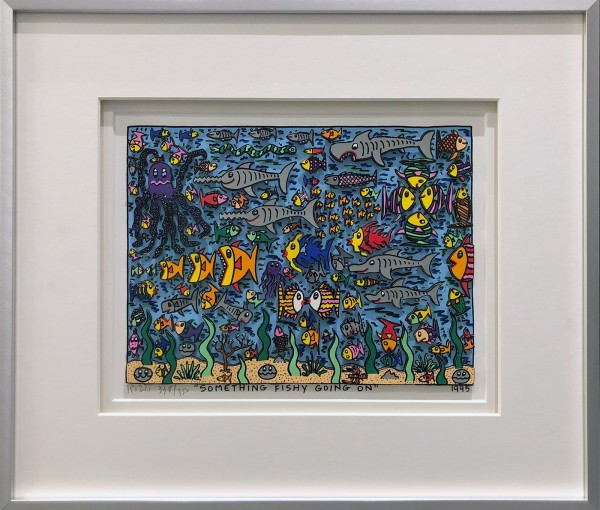 SOMETHING FISHY GOING ON (1995) - JAMES RIZZI