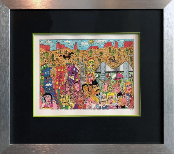 TWENTY FIVE YEARS OF GOOD TASTE, GOOD THINGS, AND GOOD FRIENDS (1995) - JAMES RIZZI