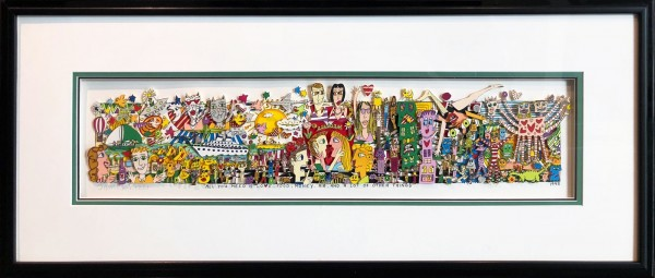 ALL YOU NEED IS LOVE, FOOD, MONEY, AIR AND A LOT OF OTHER THINGS (1995) - JAMES RIZZI
