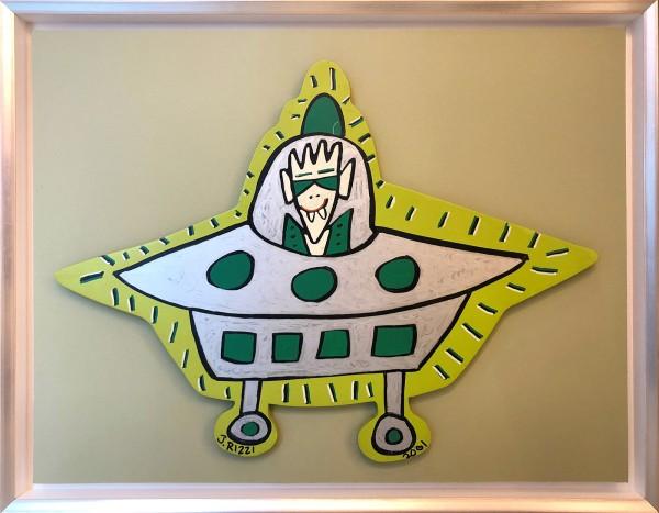 UFO - UNIKAT AUS HOLZ (2001) - JAMES RIZZI