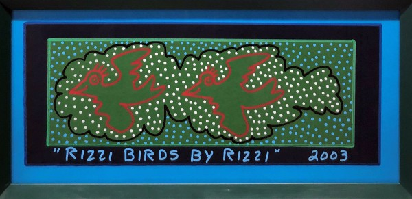 RIZZI BIRDS BY RIZZI - UNIKAT (2003) - JAMES RIZZI